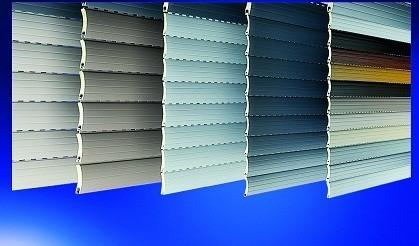 Rolladenprofile, Aluminium, Kunststoff